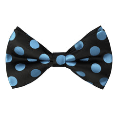 LTBLUE Polka Dot Bow Tie and Handkerchief Set- MONDAYSUIT