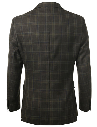 Modern Fit 2-Button Wool Blazer (Big & Tall Available)