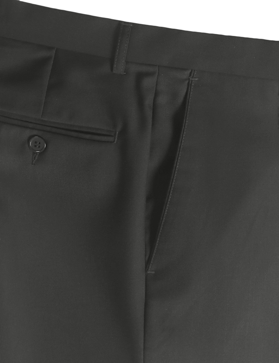 04CHR Modern Fit Flat Front Dress Trousers- MONDAYSUIT