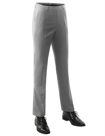 Putty Modern Fit Flat Front Dress Trousers