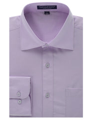 LAVENDER Regular Fit Dress Shirt w/ Reversible Cuff (Big & Tall Available)- MONDAYSUIT