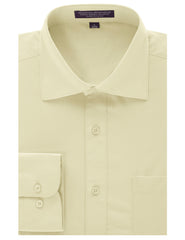 OFFWHITE Regular Fit Dress Shirt w/ Reversible Cuff (Big & Tall Available)- MONDAYSUIT
