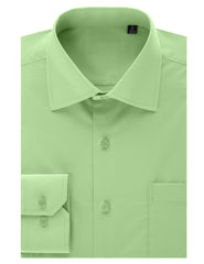 TC632LIME Lime Regular Fit Dress Shirt w/ Reversible Cuff (Big & Tall Available)- MONDAYSUIT