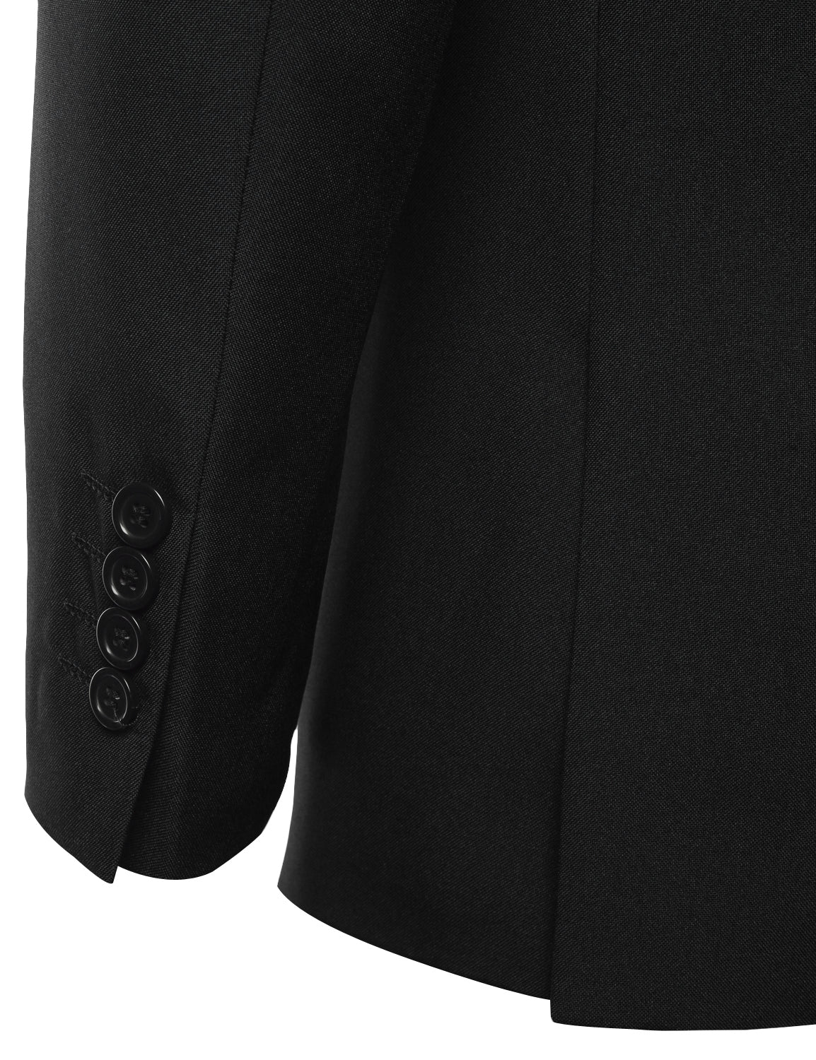 Men's 2 Piece Modern Fit Solid 2 Button Blazer Trousers
