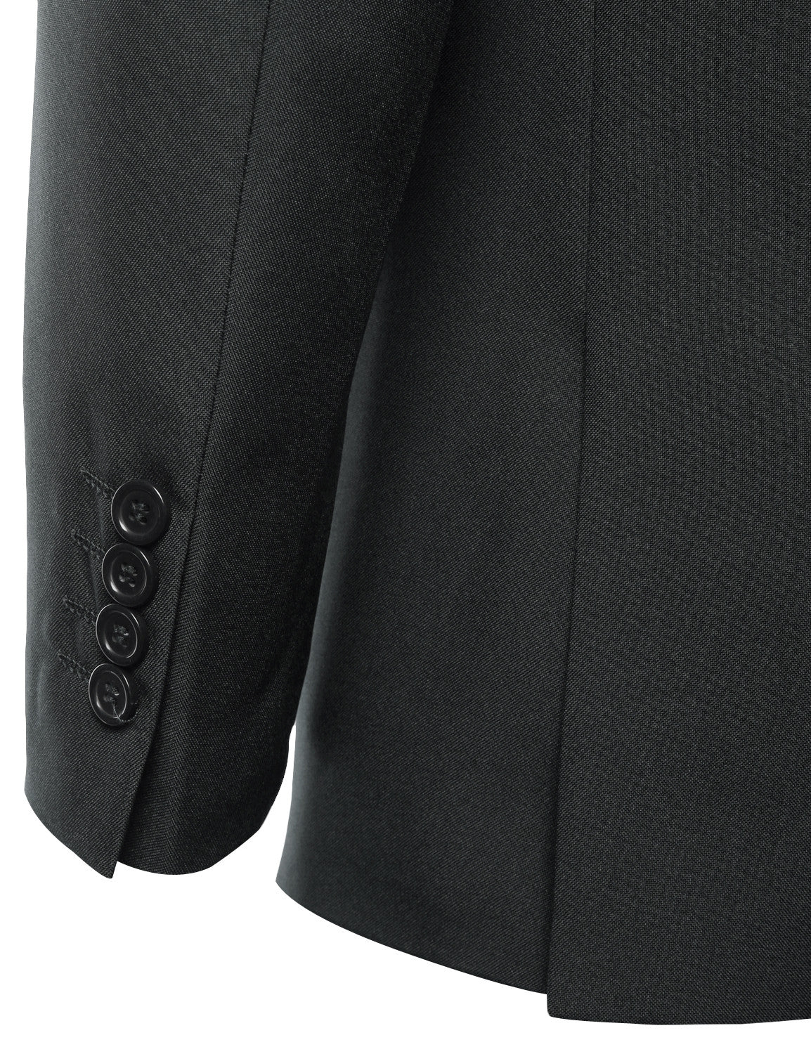 Solid CHARCOAL Modern Fit 2 Piece Suit- MONDAYSUIT
