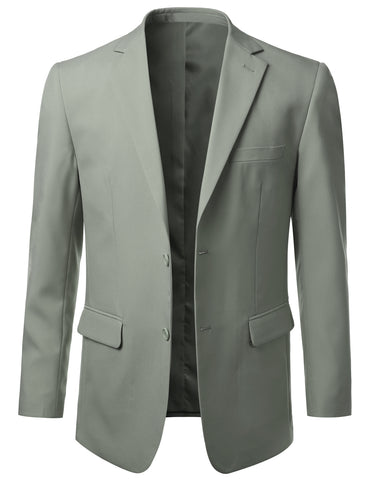 Lightgrey Modern Fit 2 Piece Suit