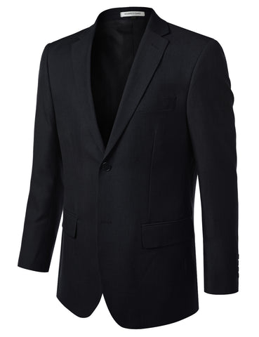 Navy Modern Fit 2 Piece Suit