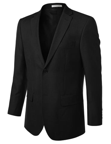 Black Modern Fit 2 Piece Suit
