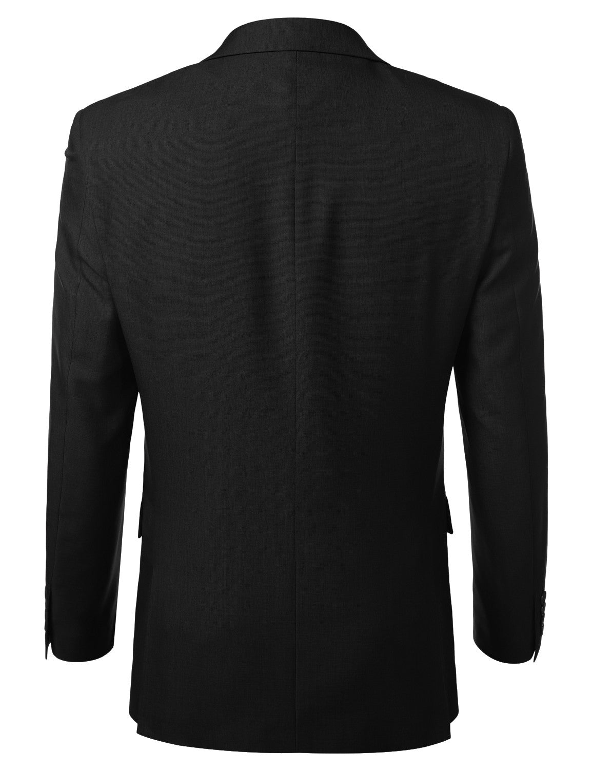 Black Modern Fit 2 Piece Suit- MONDAYSUIT