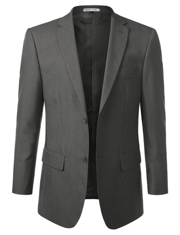 Grey Modern Fit 2 Piece Suit