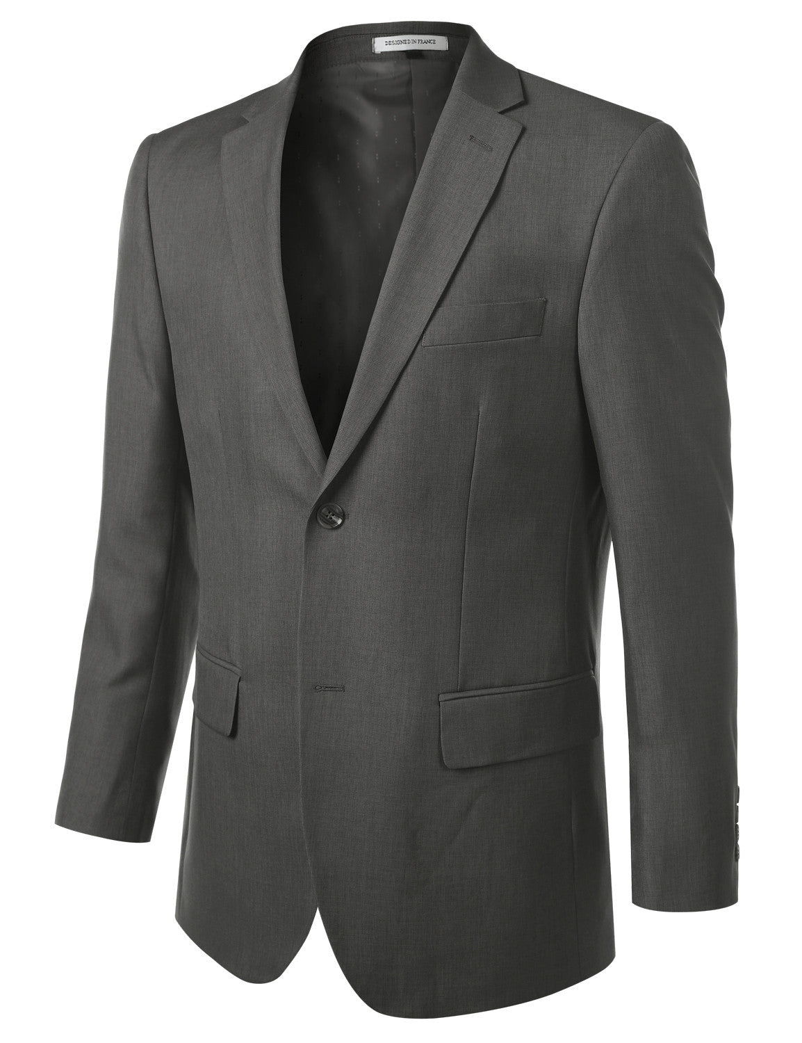GRAY Modern Fit 2 Piece Suit- MONDAYSUIT
