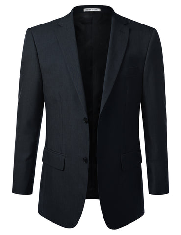 Blue Modern Fit 2 Piece Suit