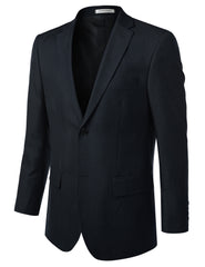 BLUE Modern Fit 2 Piece Suit- MONDAYSUIT