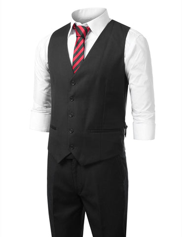 Charcoal Modern Fit 3 Piece Suit