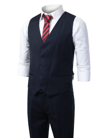 Navy Modern Fit 3 Piece Suit
