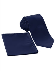 NAVY17 Formal Tuxedo 3 Piece Vest Set (Vest, Necktie, Pocket Square)- MONDAYSUIT