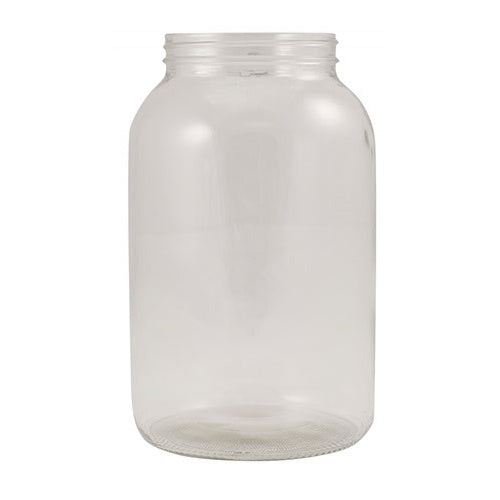 1 Gallon Glass Widemouth Jar - No Lid