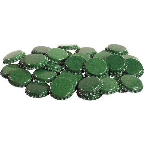 Crown Caps Green (144 Count)