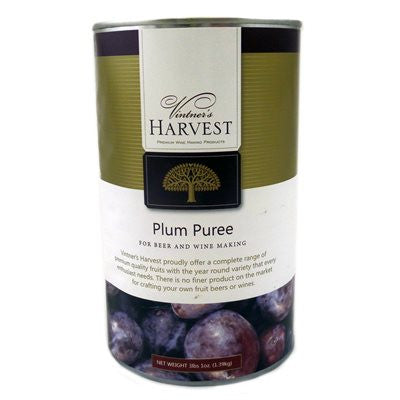 Vintner's Harvest Plum Puree - 49 oz Can