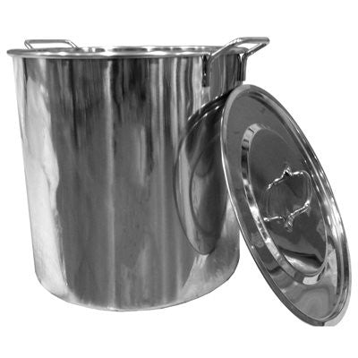 Stainless 8 Gallon (32 qt) Brew Kettle