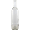 Bottle Bordeaux Clear Wine Bottles, 750 ml Single