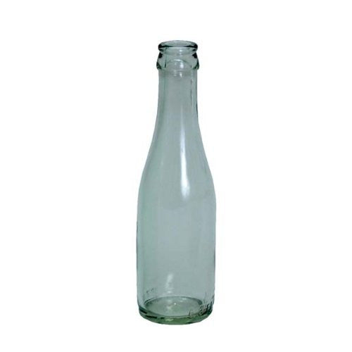 187ml Clear Champagne Bottles, 24 per case