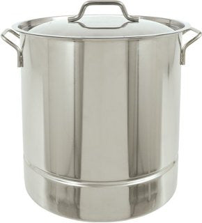 Stainless 5 Gallon (20 qt) Brew Kettle