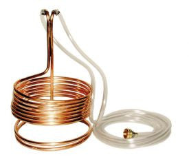 Copper Wort Chiller, 25ft Short