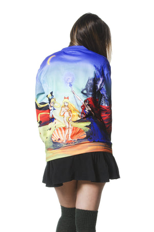 """BIRTH OF VENUS"" crew neck female 3"