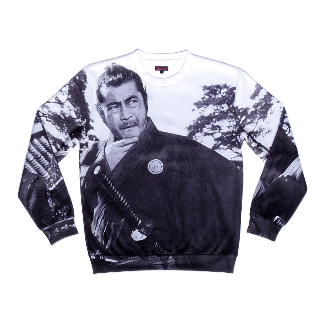 """YOJIMBO"" sweater front"