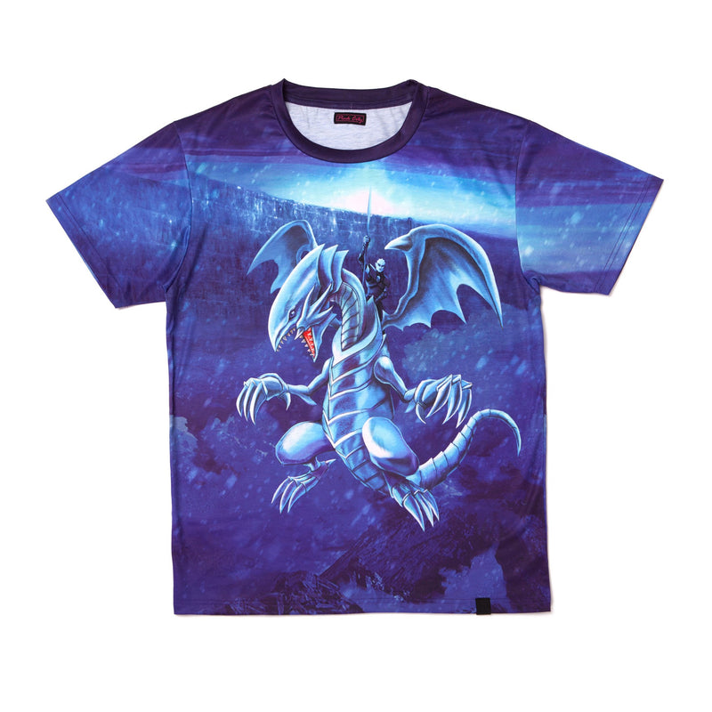 """DRAGON NIGHT"" tee model 1 back"