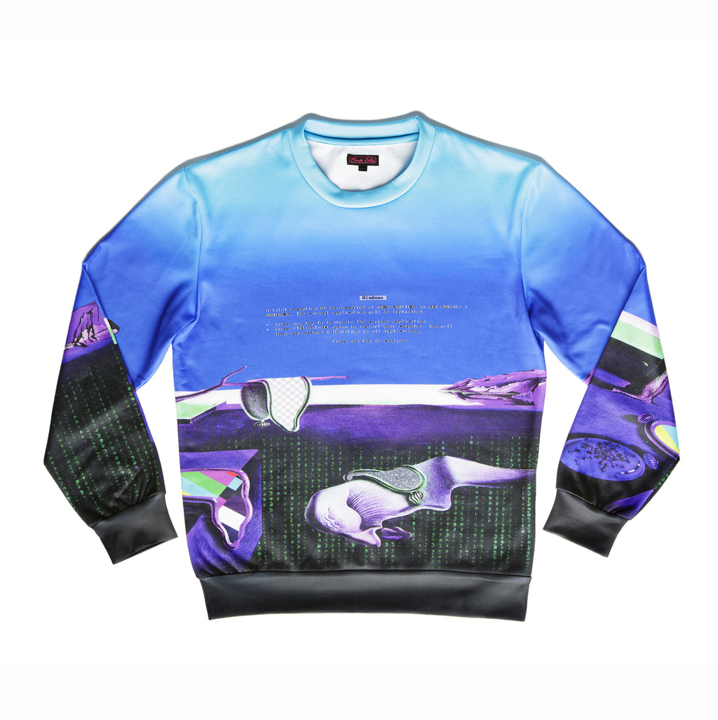 """MEDIA 2.0"" crew neck sweater"