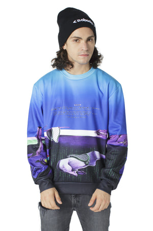 """MEDIA 2.0"" crew neck sweater male 1"