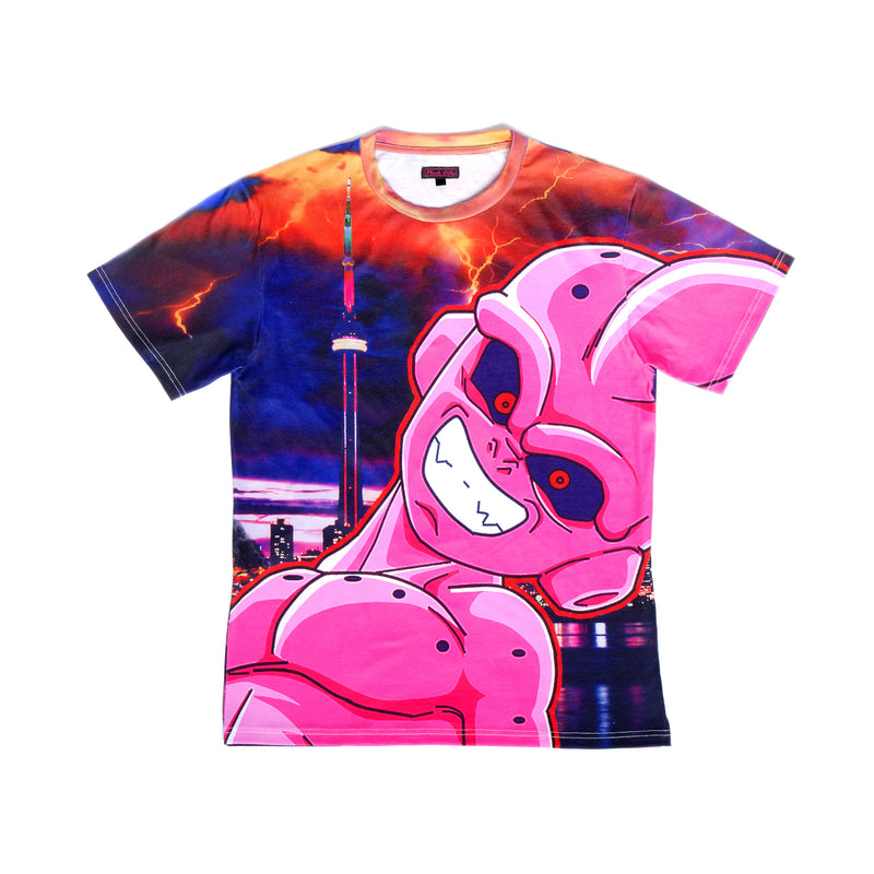 """PINK MATTER"" tee male 1"