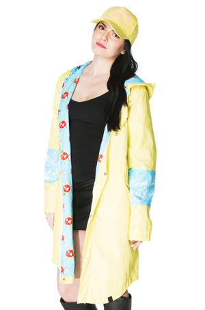 """HYDRO PUMP"" trainer coat female 1 yellow"