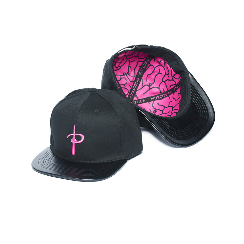 """THINKING CAP"" strapback hat female 1"