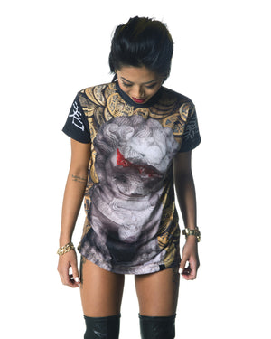 """TYRANT"" tee female 1"
