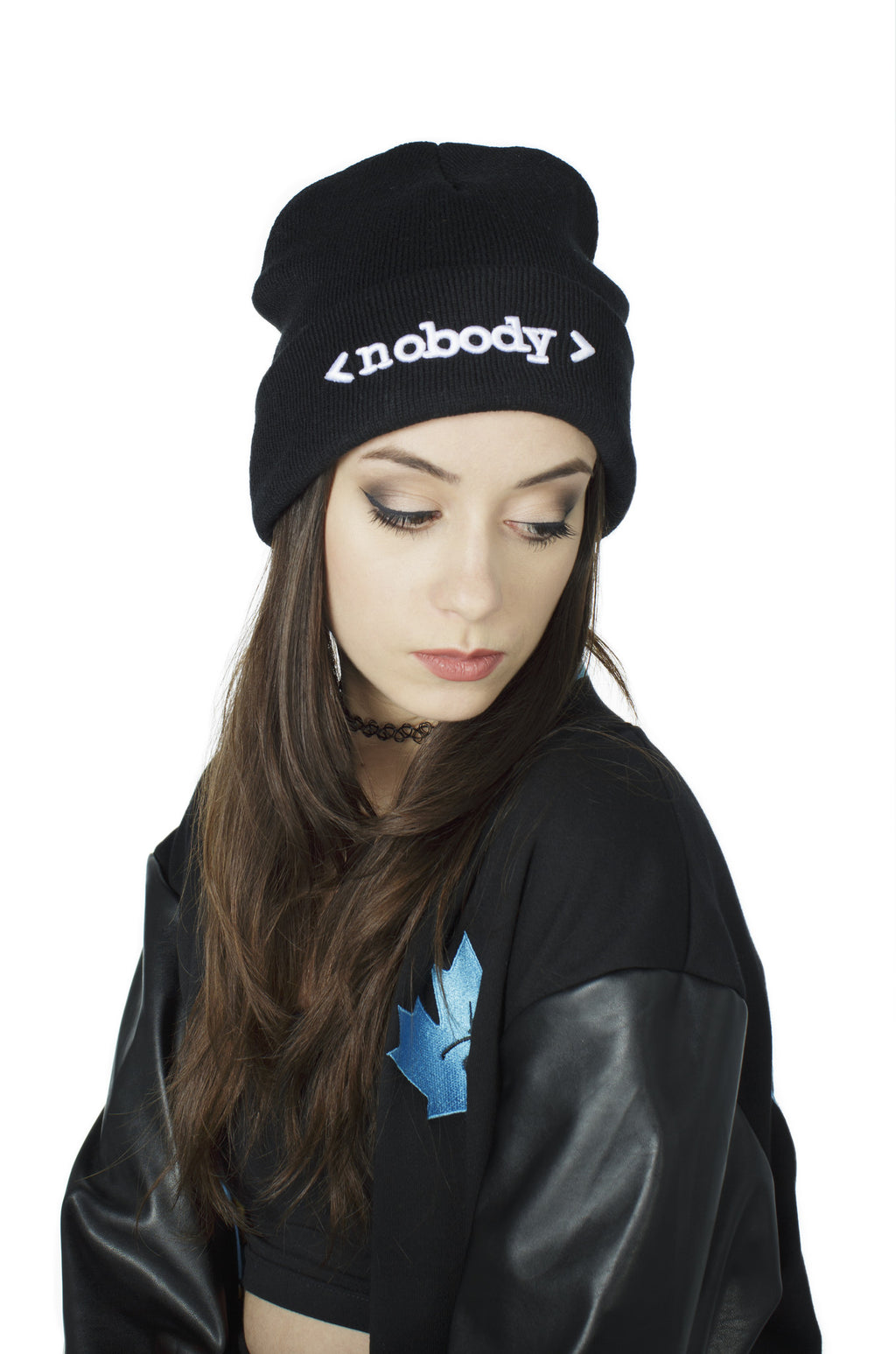 """NOBODY"" beanie female 2"