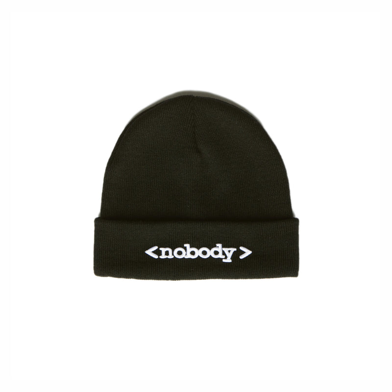 """NOBODY"" beanie female 1"