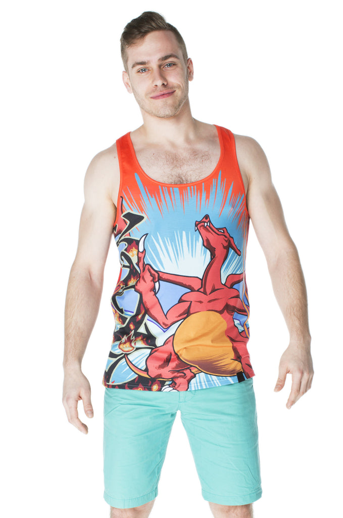 """FIRESTARTER"" tank top male 1"