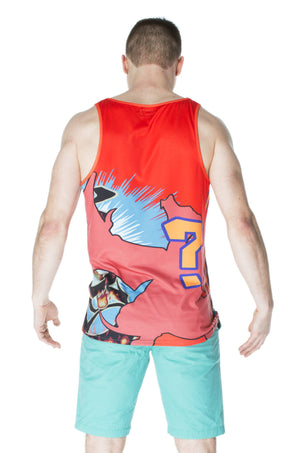 """FIRESTARTER"" tank top male 2"