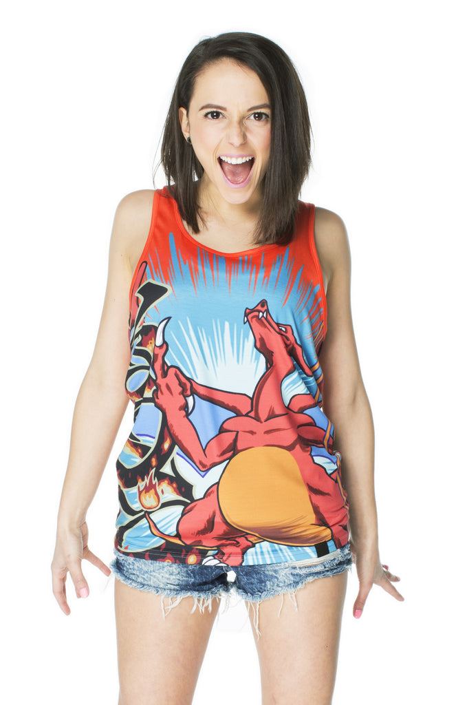 """FIRESTARTER"" tank top female 1"