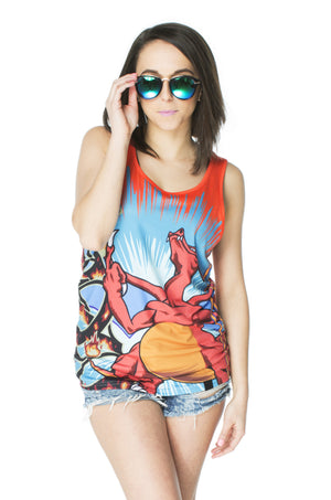 """FIRESTARTER"" tank top female 2"