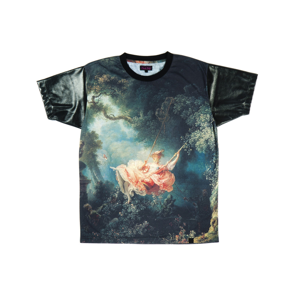 """THE SWARM"" tee front zombies"