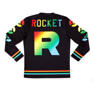 """ROCKET PRIDE"" jersey back"
