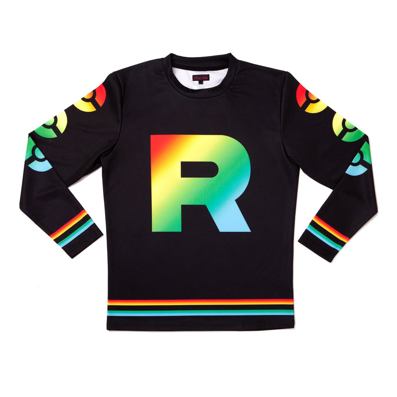 """ROCKET PRIDE"" jersey model 3 side"