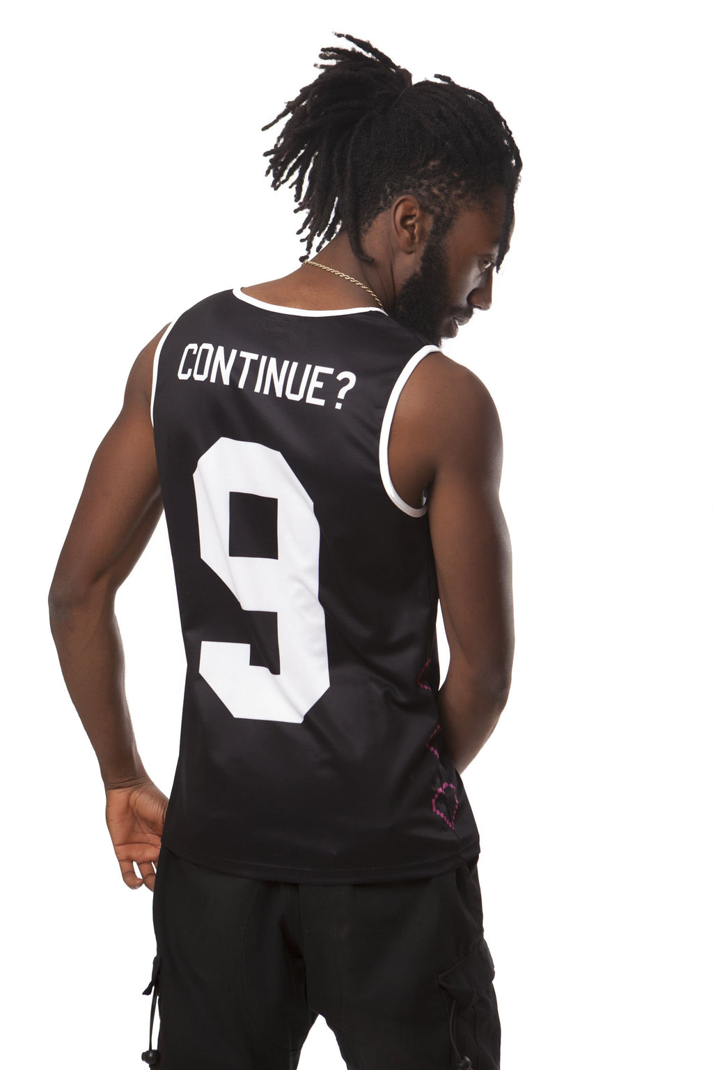 """RESPAWN"" basketball jersey male"