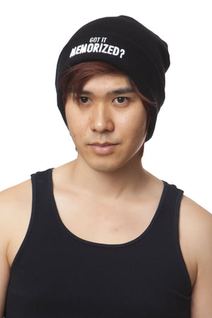 """FRIENDSHIP"" beanie male"