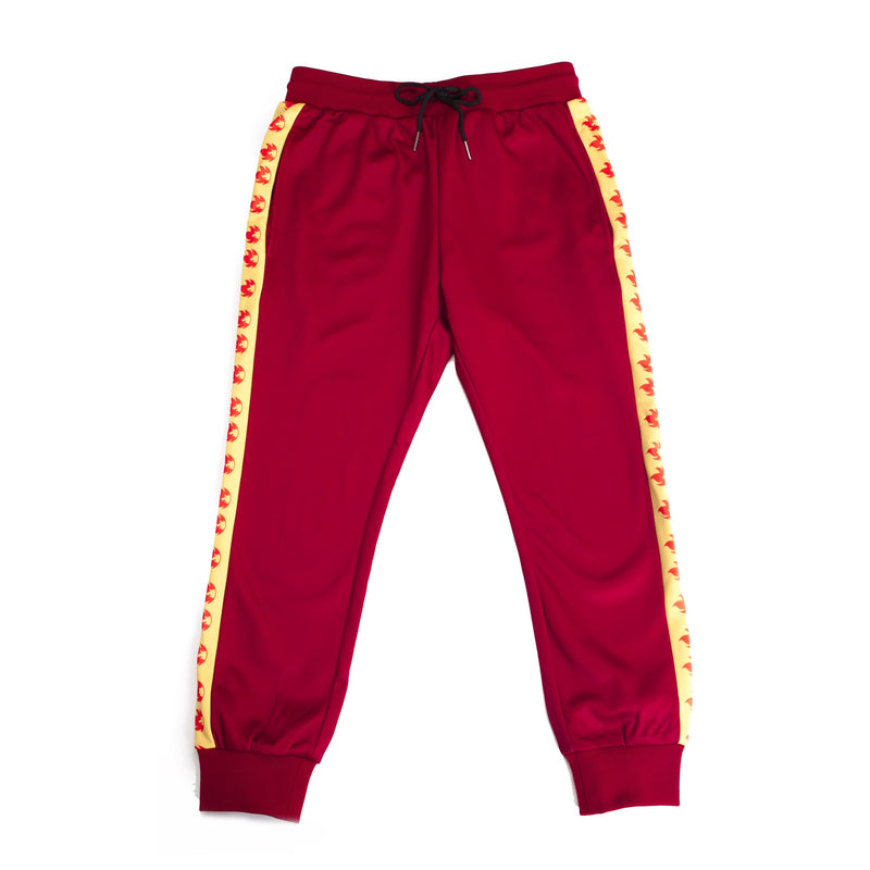"""FIRE RED"" GO joggers female"