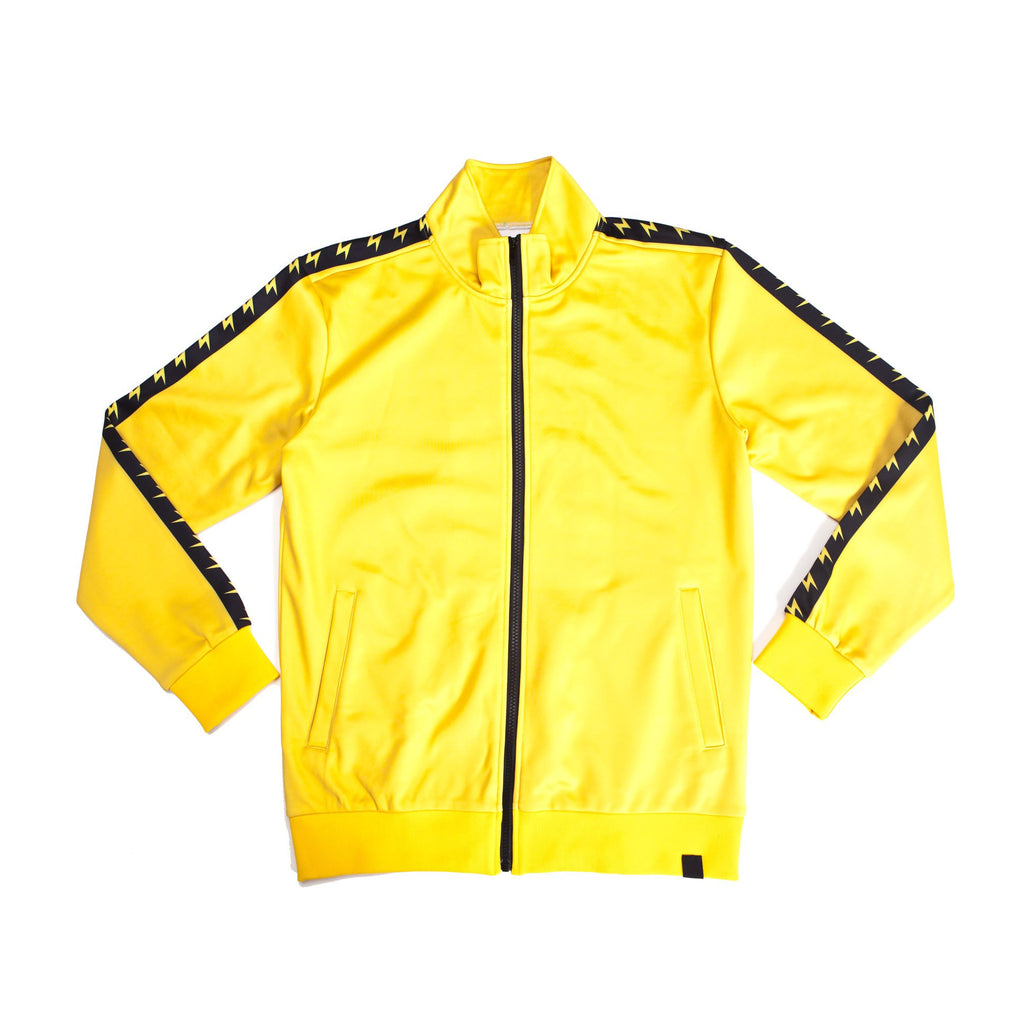 """VOLT YELLOW"" GO track jacket"